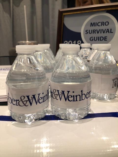 INGBER & WEINBERG water bottles